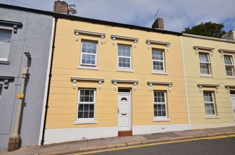 4 Bedrooms Terraced House for sale in Wellington Row, Whitehaven