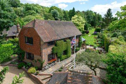 4 Bedrooms Detached House for sale in Hillydeal Road, Otford, Sevenoaks