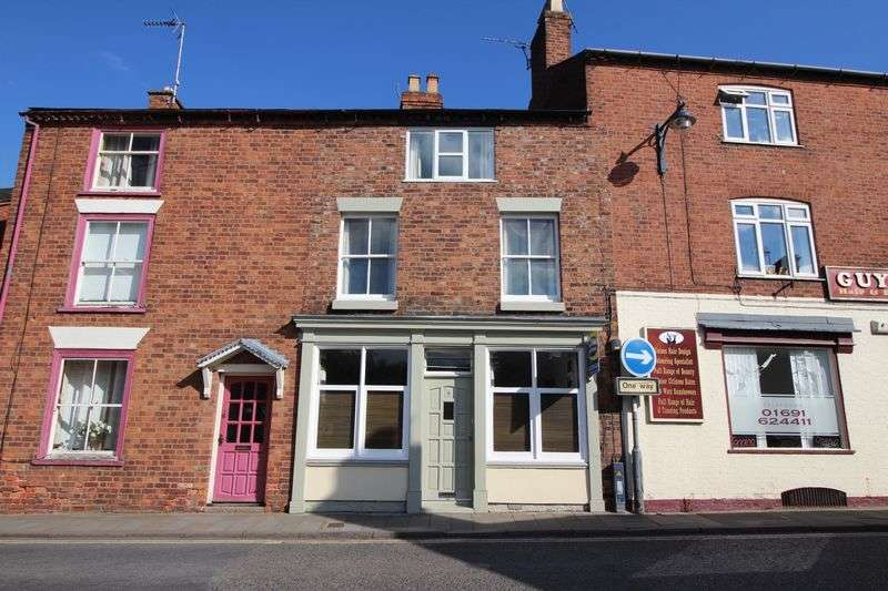 4 Bedrooms Terraced House for sale in 4 Watergate Street, Ellesmere