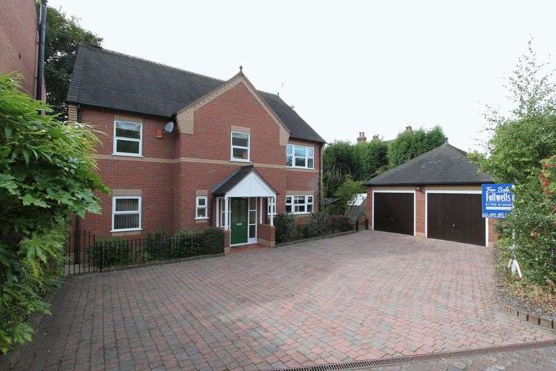5 Bedrooms Detached House for sale in Thomas Ward Place, Penkhull