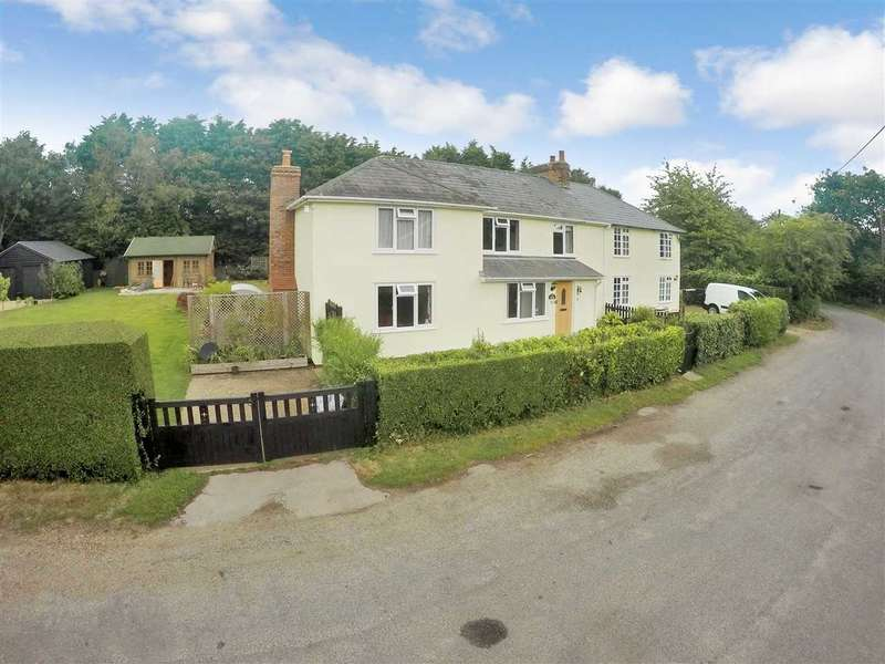 4 Bedrooms Semi Detached House for sale in Chapel Road, Boxted, Colchester
