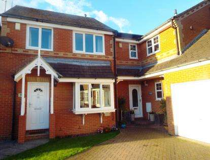 3 Bedrooms Link Detached House for sale in Marwell Drive, Washington, Tyne and Wear, NE37