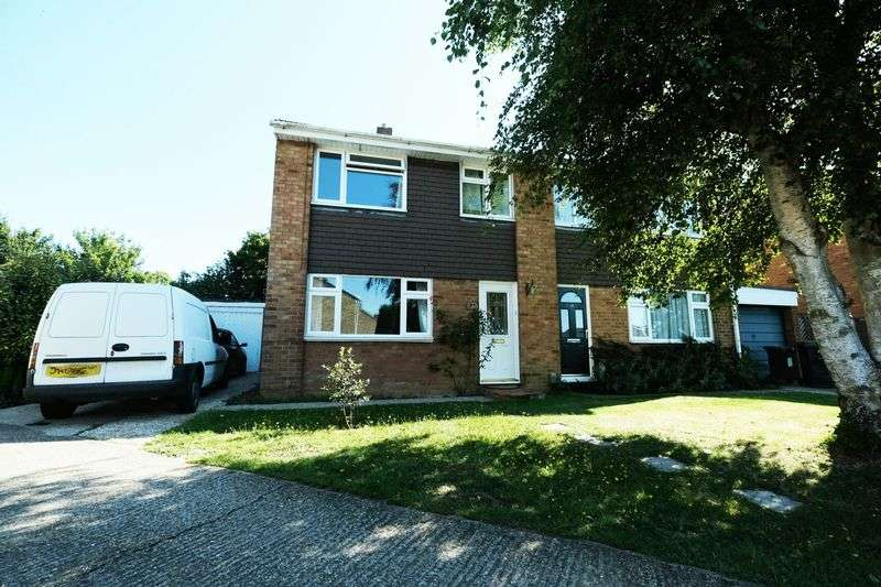 3 Bedrooms Semi Detached House for sale in Paddock Close, Clapham, Bedford