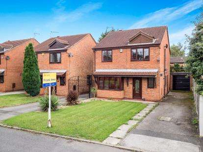 4 Bedrooms Detached House for sale in Ramblers Close, Colwick, Nottingham