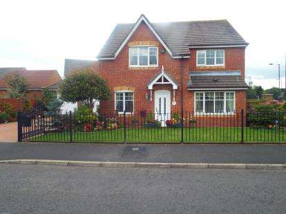 4 Bedrooms Detached House for sale in Cranberry Drive, Washington, Tyne and Wear, NE38