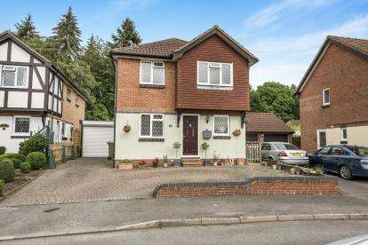4 Bedrooms Detached House for sale in Bishopstoke, Eastleigh, Hampshire