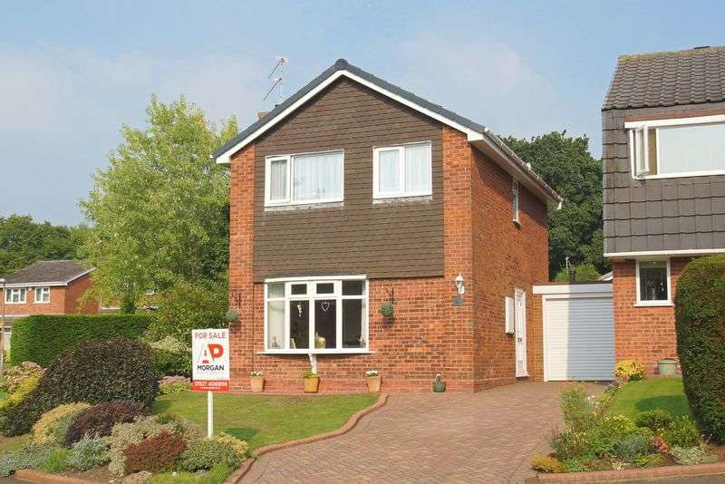 3 Bedrooms Detached House for sale in Paxford Close, Church Hill North, Redditch, Worcestershire
