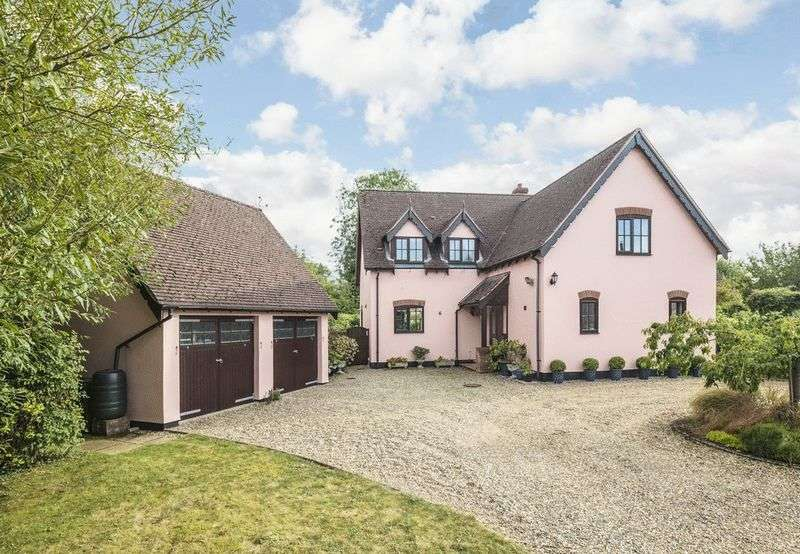5 Bedrooms Detached House for sale in Stuston, Near Diss