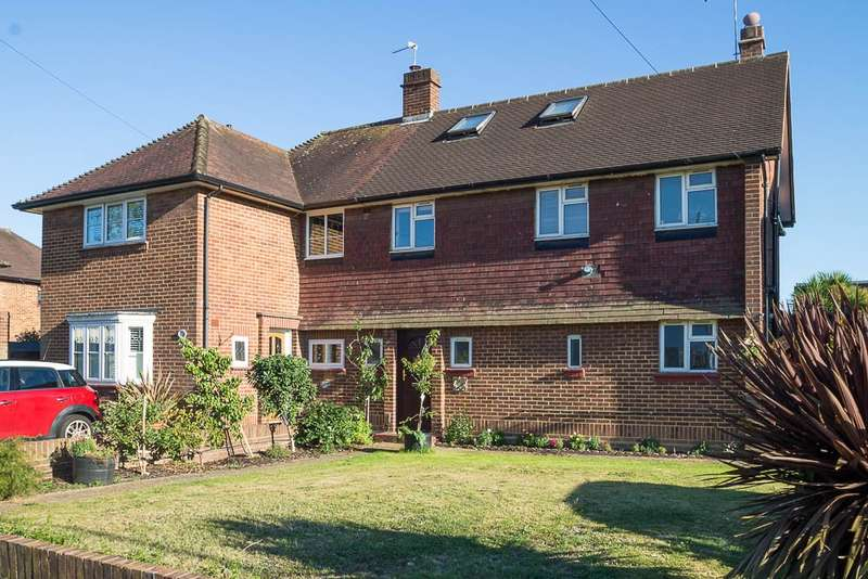 4 Bedrooms Semi Detached House for sale in Shelson Avenue, Feltham, TW13