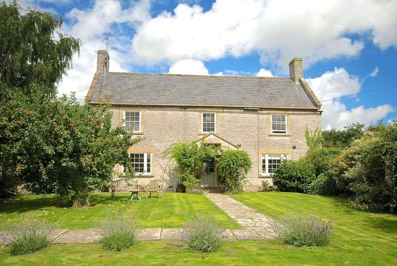 5 Bedrooms Detached House for sale in Wraxall - Near Ditcheat