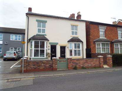 2 Bedrooms Semi Detached House for sale in High Street, Astwood Bank, Redditch, Worcestershire