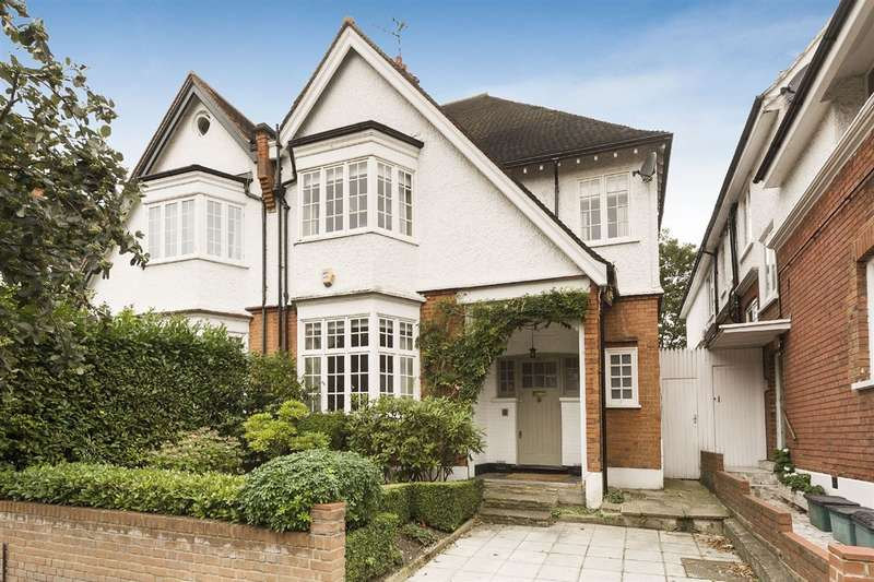 4 Bedrooms House for sale in Crediton Hill, West Hampstead, NW6