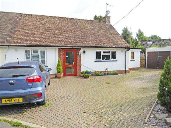 3 Bedrooms Semi Detached Bungalow for sale in Beyton Road, Hessett, BURY ST. EDMUNDS IP30 9AT