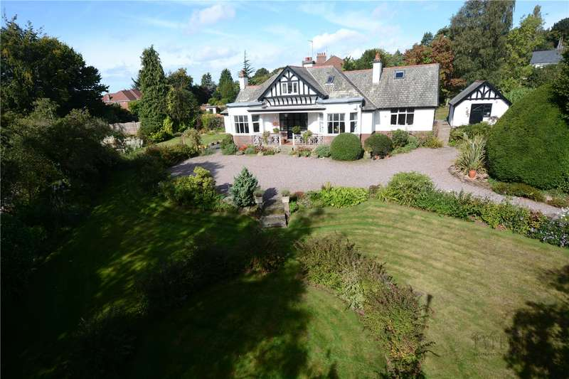 4 Bedrooms Detached House for sale in Farr Hall Drive, Heswall, Wirral
