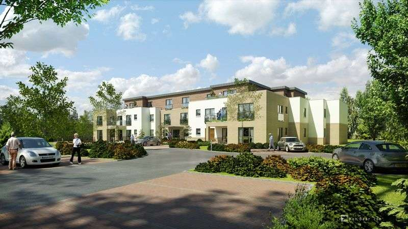 Flat for sale in The Sycamores, Kinross: BRAND NEW ONE OR TWO BED APARTMENTS