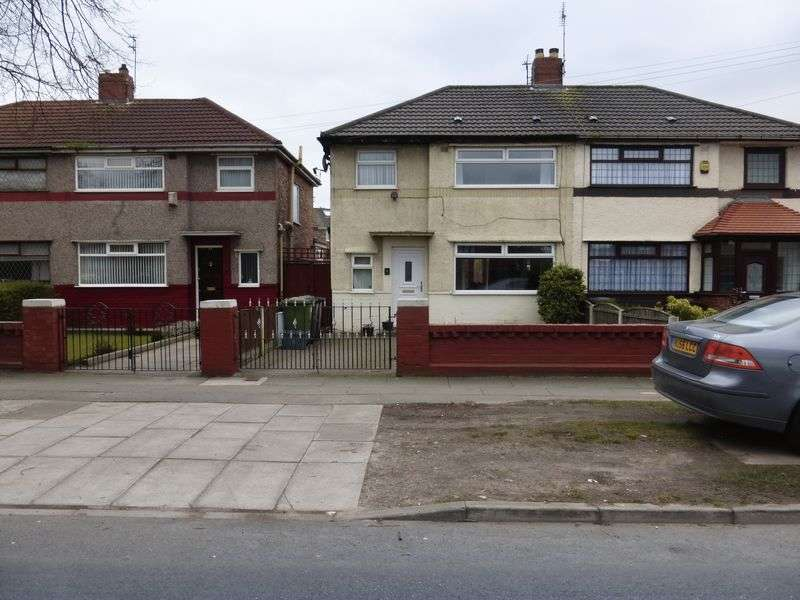 3 Bedrooms Semi Detached House for sale in Park Lane West, Bootle
