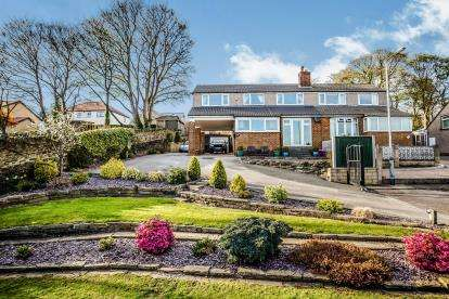 4 Bedrooms Semi Detached House for sale in Springfield Grove, Brighouse, West Yorkshire, Brighouse