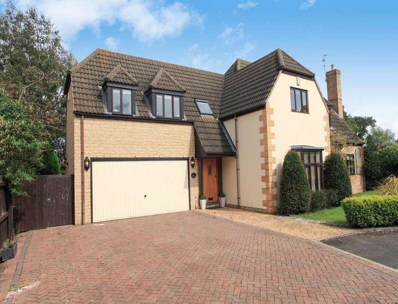 5 Bedrooms Detached House for sale in The Orchard, Werrington, Peterborough, PE4