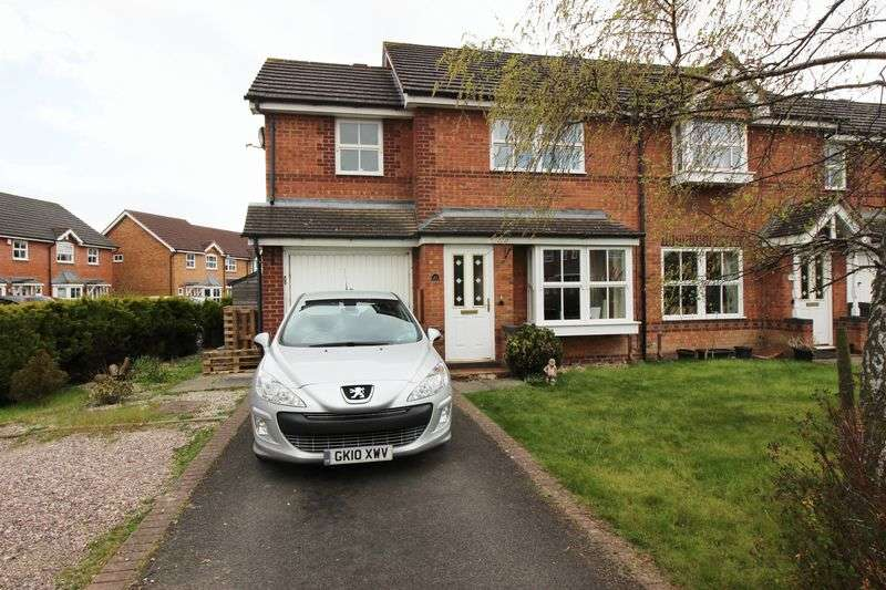 3 Bedrooms Semi Detached House for sale in Shillingston Drive, Shrewsbury