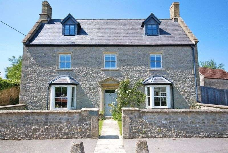 5 Bedrooms Detached House for sale in STONEY STRATTON - Between Castle Cary and Glastonbury