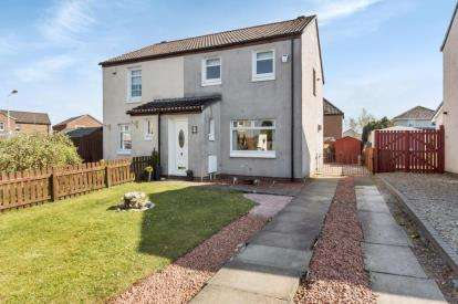 3 Bedrooms Semi Detached House for sale in Lewis Avenue, Wishaw, North Lanarkshire