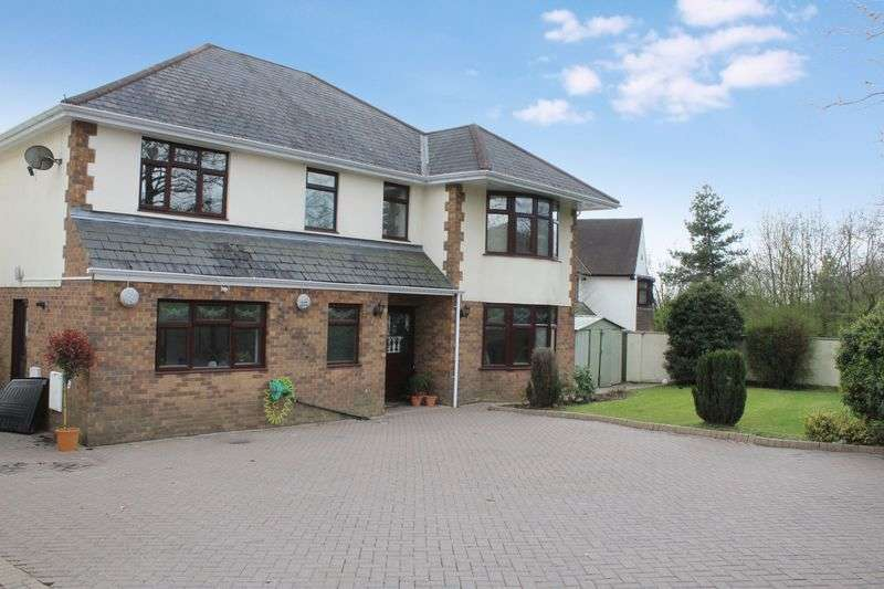 4 Bedrooms Detached House for sale in Chepstow Road, Langstone, Newport