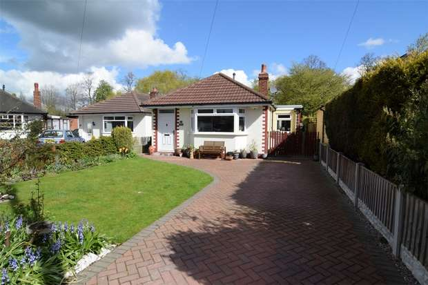 2 Bedrooms Detached Bungalow for sale in Oakfield Avenue, Upton, Chester, Cheshire