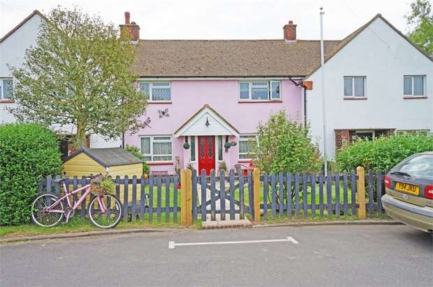 3 Bedrooms Terraced House for sale in Brookside, Piddinghoe, Newhaven, East Sussex
