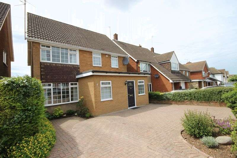 4 Bedrooms Detached House for sale in Fairford Avenue, Luton