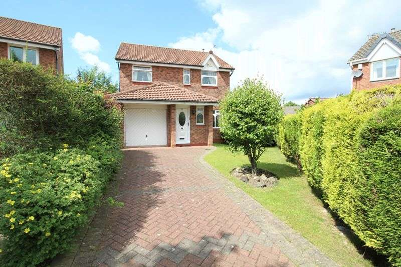 4 Bedrooms Detached House for sale in Woodvale Drive, Hebburn