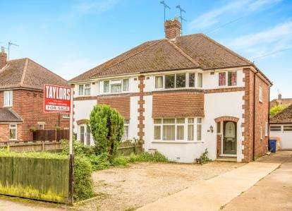 3 Bedrooms Semi Detached House for sale in Manor Road, Banbury, Oxfordshire, Oxon