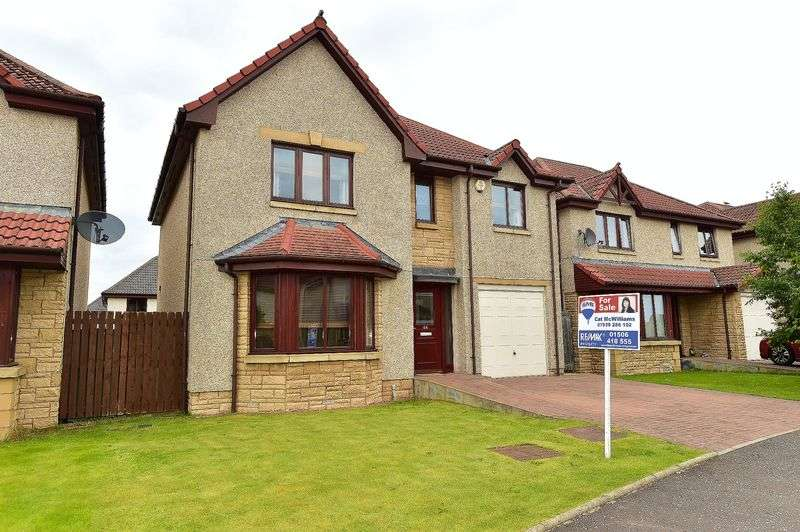 4 Bedrooms Detached House for sale in Bruce Street, Bathgate, EH48 2SZ