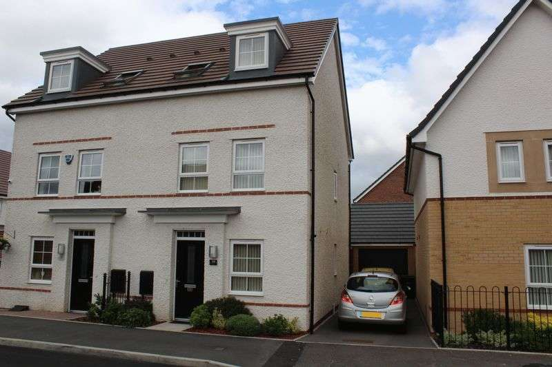 3 Bedrooms Semi Detached House for sale in Richard Bradley Way, Tipton