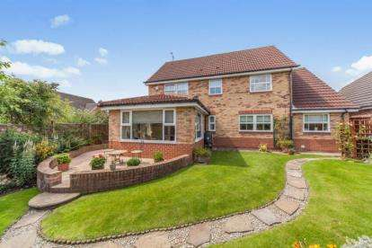 4 Bedrooms Detached House for sale in Hermitage Gardens, Chester Le Street, Durham, DH2