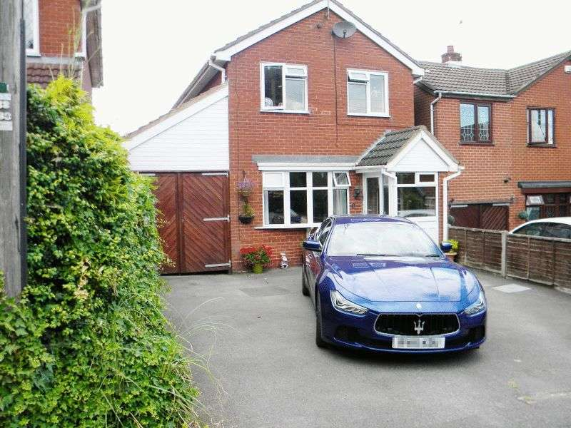 3 Bedrooms Detached House for sale in Sandon Close, Cresswell, Stoke-On-Trent