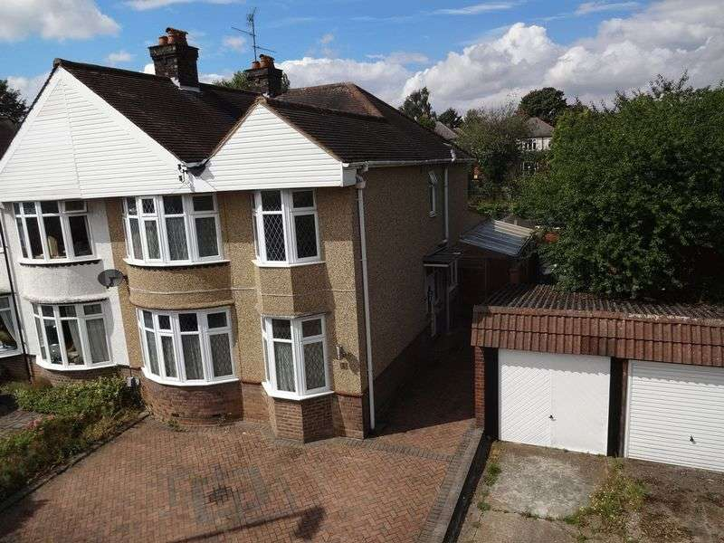 4 Bedrooms Semi Detached House for sale in Montrose Avenue, Luton