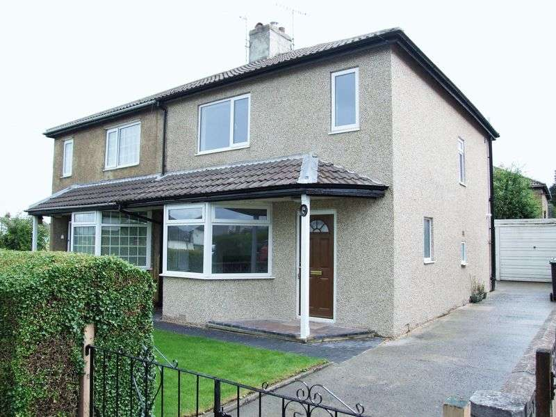 3 Bedrooms Semi Detached House for sale in Nab Wood Drive, Shipley