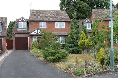 4 Bedrooms Detached House for sale in Goldacre Close, Whitnash, Leamington Spa, Warwickshire