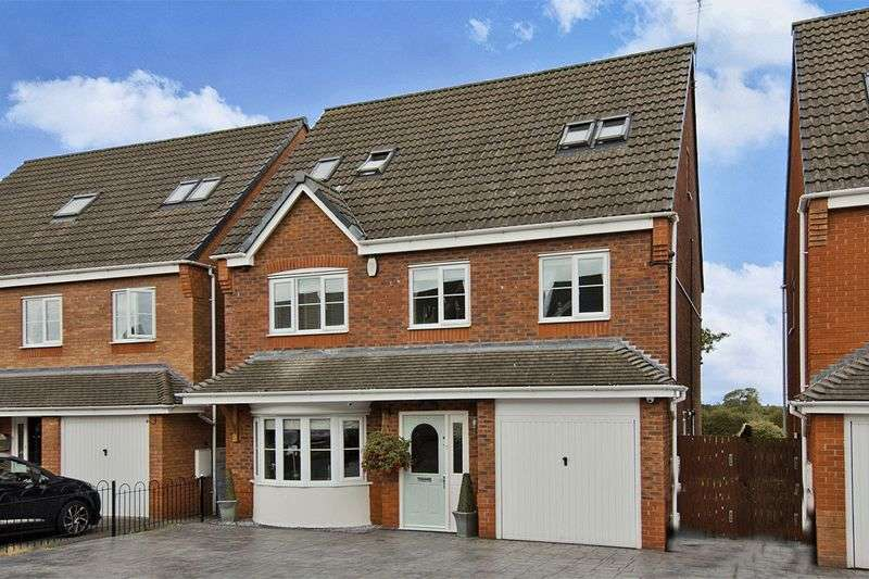 5 Bedrooms Detached House for sale in The Meadows, Wedges Mills, Cannock