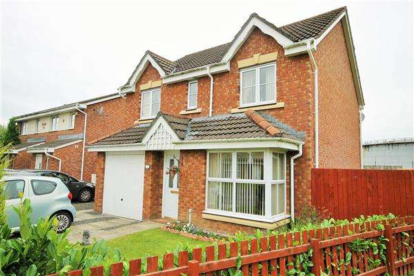 4 Bedrooms Detached House for sale in Berryhill Crescent, Wishaw