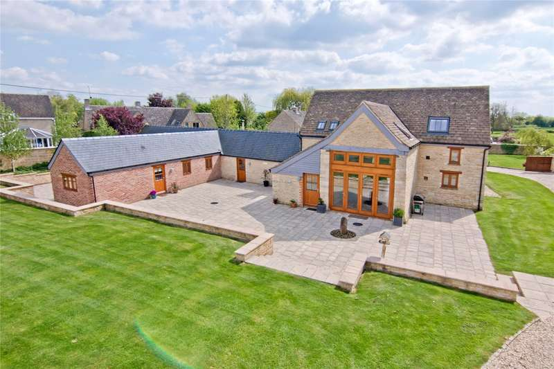 5 Bedrooms Detached House for sale in Reevey, Kempsford, Fairford, Gloucestershire, GL7