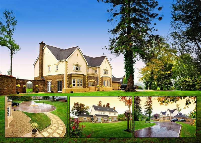 5 Bedrooms Detached House for sale in Cefn Mably Park, Cefn Mably, Cardiff