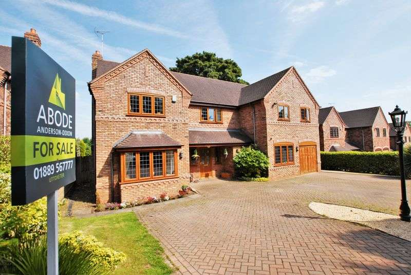 5 Bedrooms Detached House for sale in Chartley Gate Close, Uttoxeter