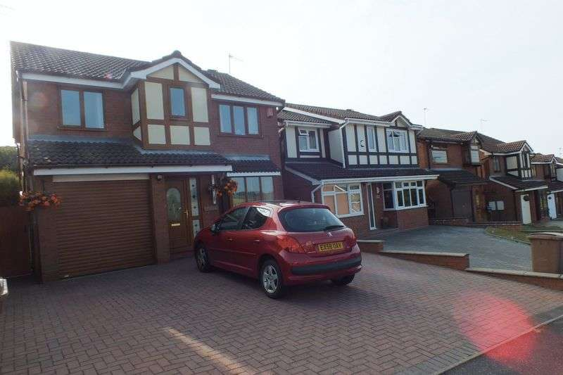 4 Bedrooms Detached House for sale in Appledore Grove, Packmoor, Stoke-On-Trent