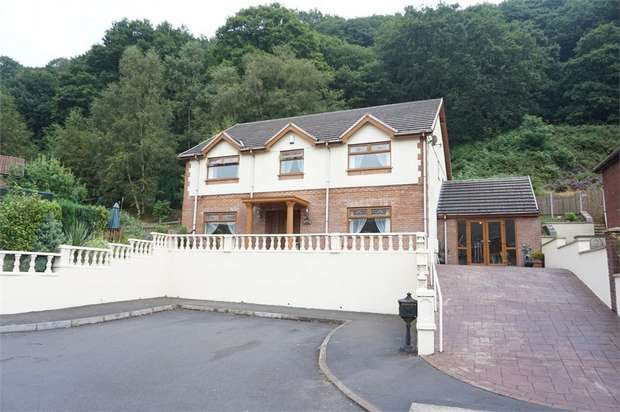 4 Bedrooms Detached House for sale in Plot 9, Cwm Darran Place, Deri BARGOED, Caerphilly