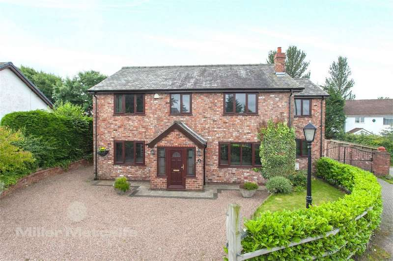 4 Bedrooms Detached House for sale in Radley Lane, Houghton Green, Warrington, Cheshire