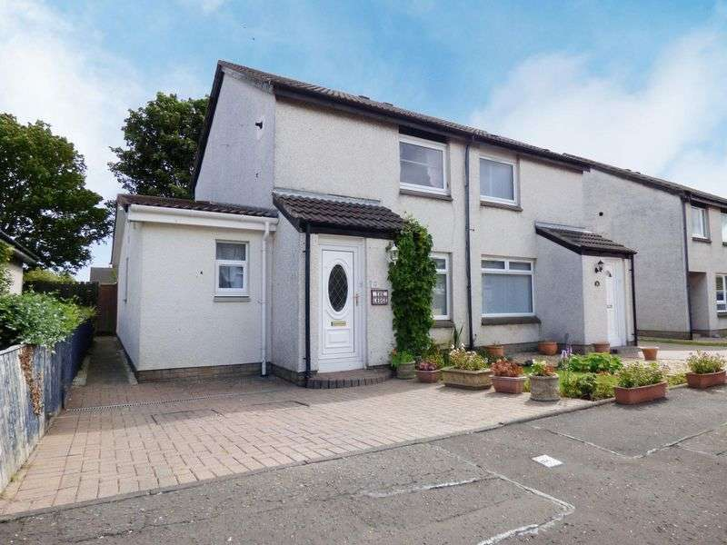 2 Bedrooms Semi Detached House for sale in 38 Wisp Green, Edinburgh