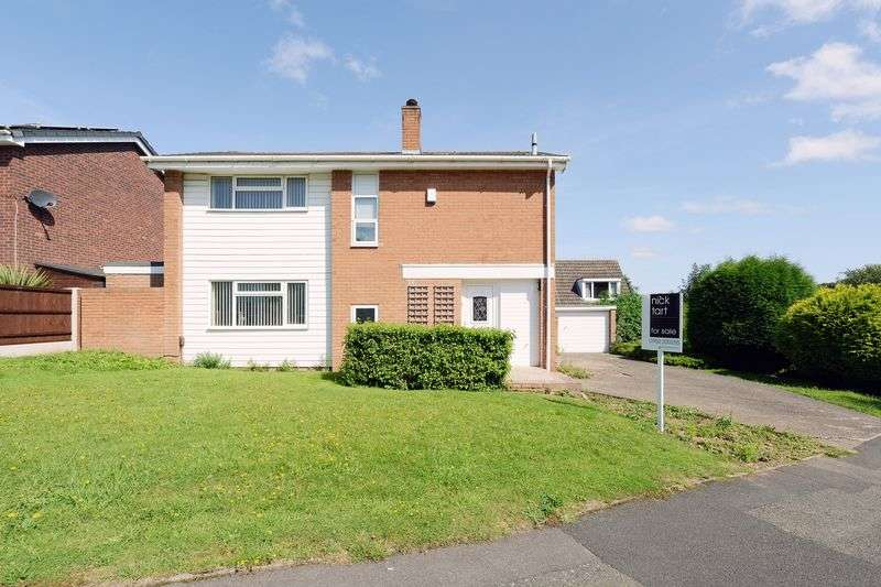 3 Bedrooms Detached House for sale in Beckbury Drive, Stirchley, Telford, Shropshire.