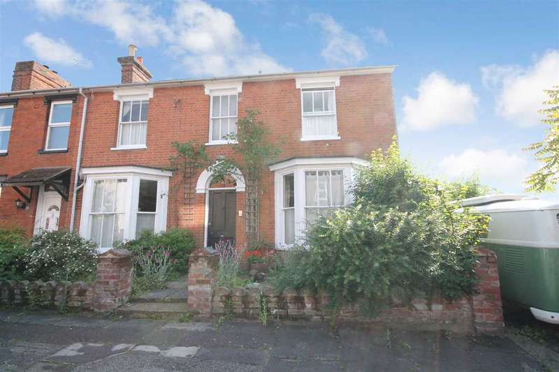4 Bedrooms End Of Terrace House for sale in Rose Cottage, North Hill Road, Ipswich