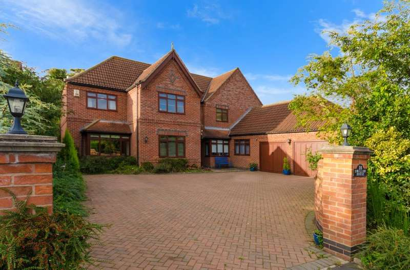 5 Bedrooms Detached House for sale in Vicarage Lane, Long Bennington, Newark, NG23